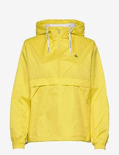 ESSENTIAL POP OVER - anorakker - solar yellow