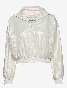 IRIDESCENT WINDBREAK - lette jakker - iridescent white