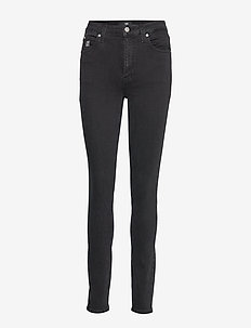 CKJ 010 HIGH RISE SKINNY - BA302 BLACK