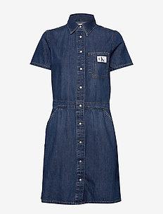 MODERN SHIRT DRESS - skjortekjoler - da127 light blue