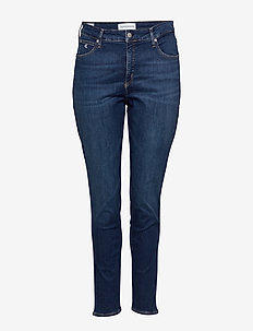 PLUS HIGH RISE SKINNY - CA120 DENIM MEDIUM