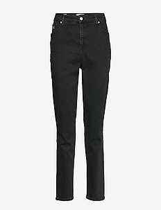 PLUS HIGH RISE SKINNY - CA121 DENIM BLACK