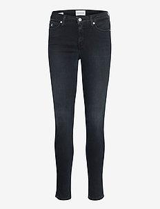 CKJ 001 SUPER SKINNY - skinny jeans - ab040 blue black