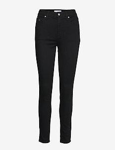 CKJ 010 HIGH RISE SKINNY - skinny jeans - zz003 black