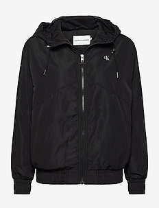 METALLIC WINDBREAKER - kevyet takit - ck black