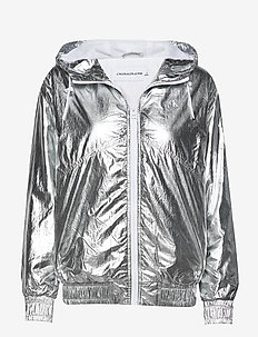 METALLIC WINDBREAKER - lichte jassen - silver metallic