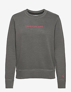 SHRUNKEN INSTITUTIONAL GMD CN - sweats - aluminium grey