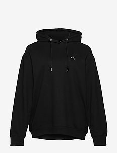 PLUS LARGE CK OVERSIZED HOODIE - hættetrøjer - ck black