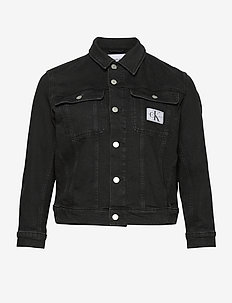 90S TRUCKER - hauts sans manches - ab099 washed black