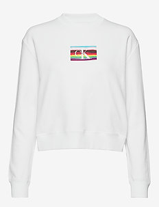 MULTILOGO RELA - sweatshirts - bright white