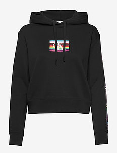 SMALL FLAG BOX - hoodies - ck black