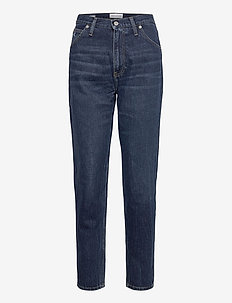 MOM JEAN - straight jeans - bb139 - dark blue utility
