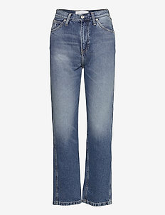 CKJ 030 HIGH RISE STRAIGHT ANKLE - straight jeans - bb047 - icn light blue utility