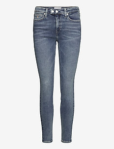 CKJ 011 MID RISE SKINNY - skinny jeans - bb195 - mid blue double shank