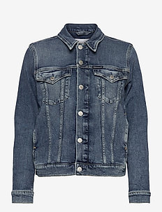 FOUNDATION DENIM JACKET - jeansjakker - bb242 - dark blue