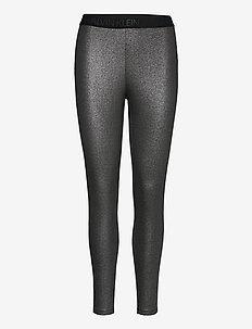 COATED MILANO LEGGING - leggings - ck black