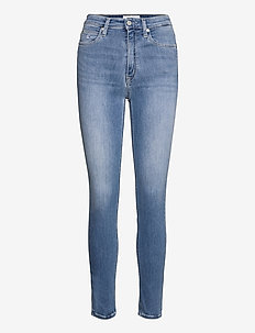 HIGH RISE SKINNY - skinny jeans - denim light