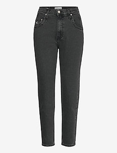 MOM JEAN - mom jeans - denim black