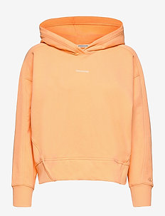 MICRO BRANDING HOODIE - sweatshirts et sweats à capuche - crushed orange