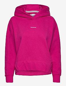 MICRO BRANDING HOODIE - sweatshirts et sweats à capuche - party pink