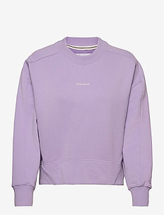 MICRO BRANDING SWEATSHIRT - sweatshirts et sweats à capuche - palma lilac