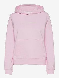SHRUNKEN INSTITUTIONAL HOODIE - sweatshirts en hoodies - pearly pink