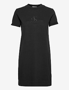 ARCHIVES ECO DYE T-SHIRT DRESS - sommerkjoler - ck black