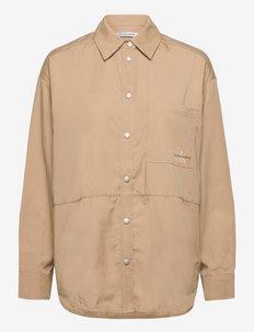 OVERSHIRT - overshirts - travertine
