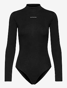 MICRO BRANDING BODY - bodys - ck black