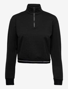 MILANO LONG SLEEVES TOP - sweatshirts & hoodies - ck black