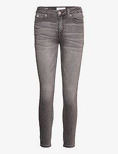MID RISE SKINNY ANKLE - jeans skinny - denim grey
