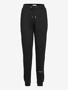 PLUS MICRO BRANDING JOGGING PANT - odzież - ck black