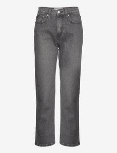 HR STRAIGHT ANKLE - straight jeans - denim grey