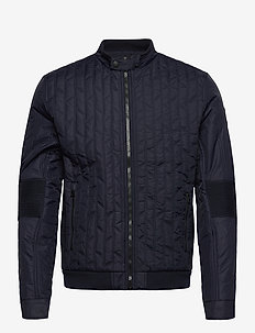 OTOR QUILTED PADDED MOTO - quilted jackets - night sky