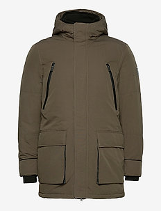 ODALL HD PADDED PARKA - parkatakit - major brown