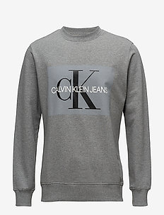CORE MONOGRAM LOGO S - sweats - grey heather