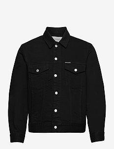 Modern Classic Trucker - denim jackets - black