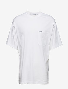 NEW RELAXED POCKET TEE - BRIGHT WHITE