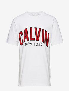 CALVIN CURVED VARSIT - BRIGHT WHITE