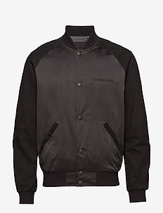 MIX MEDIA BOMBER - vestes bomber - ck black