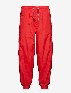 NYLON JOGGING PANTS - RACING RED