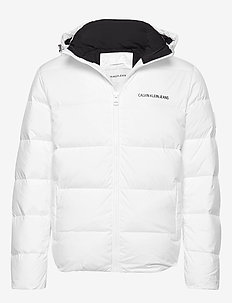 HOODED DOWN PUFFER J - BRIGHT WHITE