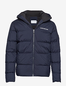 HOODED DOWN PUFFER J - NIGHT SKY