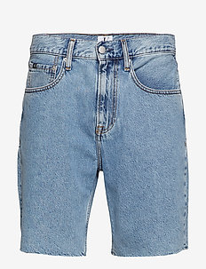 STRAIGHT SHORT - AA028 LIGHT BLUE FREY HEM