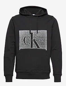 OFF PLACED MONOGRAM, - CK BLACK