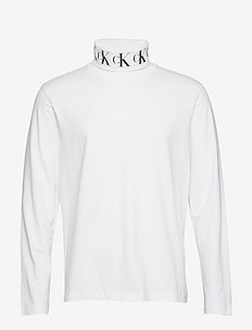 MONOGRAM TURTLE NECK - BRIGHT WHITE