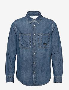 ICONIC SHIRT - denim overhemden - ca051 bright blue