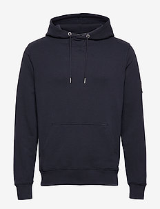 MONOGRAM SLEEVE BADG - hoodies - night sky