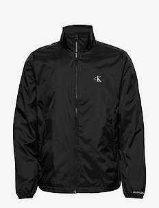 NYLON HARRINGTON - CK BLACK