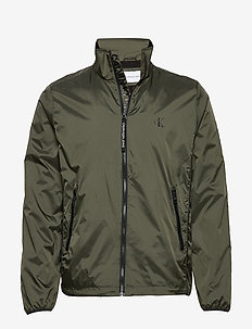 NYLON HARRINGTON - DEEP DEPTHS